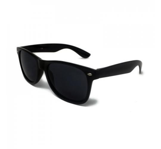 20x Pairs of BLACK Classic Style Sunglasses with Black Lens UV400