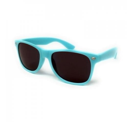 20x Pairs of SKY BLUE Classic Style Sunglasses with Black Lens UV400