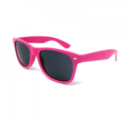 20x Pairs of Rose Pink Coloured Classic Style Sunglasses with Black Lens UV400
