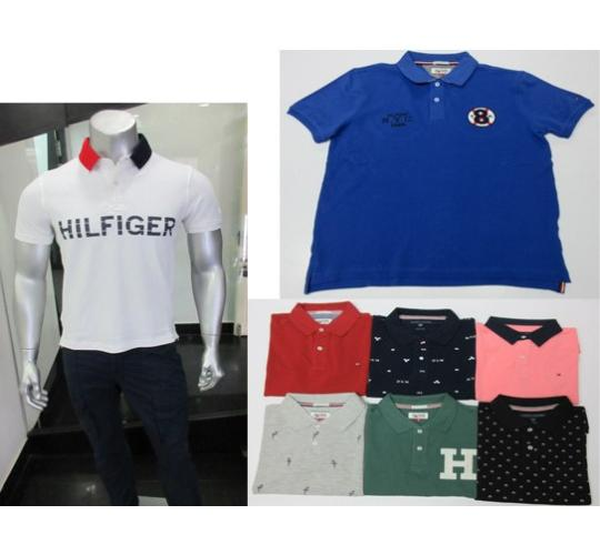 43e8b455b Wholesale Joblot of 50 Tommy Hilfiger Mens Polo Shirts Assorted Styles &  Colours