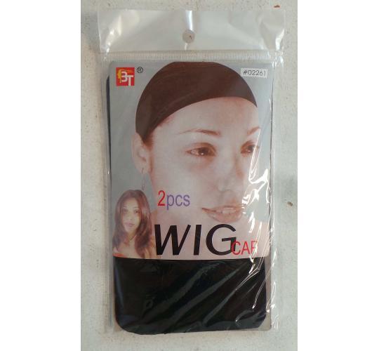 Wholesale Joblot of 50 Packs of Wig Hair Caps Black (2 in Each)