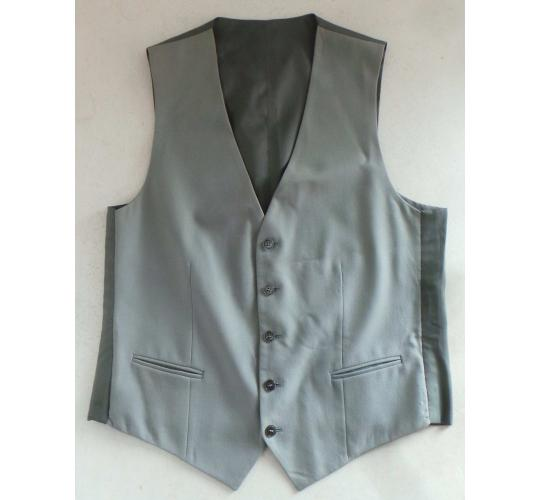 Wholesale Joblot of 10 Mens Grey Waistcoats Sizes 30 - 66