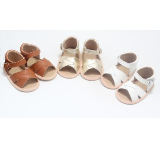 Wholesale Job Lot of 27 Real Leather Baby & Toddler Sandals