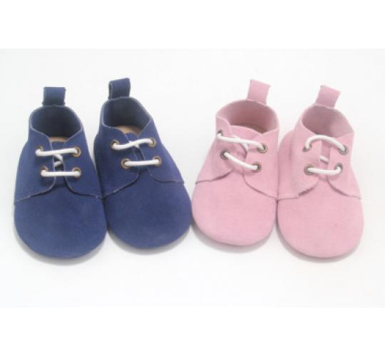 Wholesale Job Lot of 12 Real Suede Baby Booties