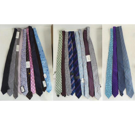 One Off Joblot of 23 Mixed Mens Branded Ties - Hugo Boss, Ted Baker & More