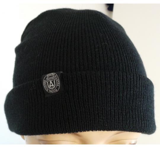 33550dde76b94 One Off Joblot of 11 A-Votre Mens Logo Beanie Hats Black