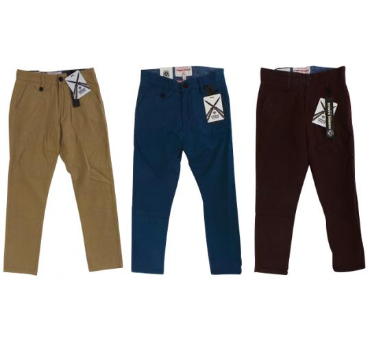 Wholesale Joblot of 10 Criminal Damage Boys Glee Chino Trousers 3 Colours