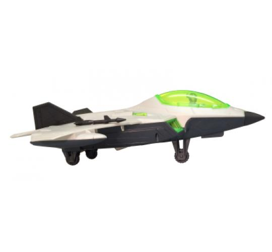 12x Light Up Toy Planes - Fighter Jet with Sounds