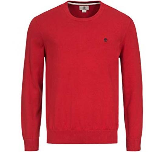 One Off Joblot of 9 Timberland Williams Crewneck Knitted Jumper Red