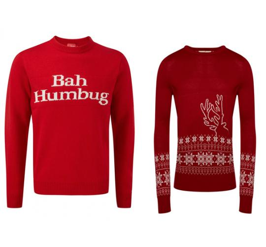 One Off Joblot of 11 Unisex Branded Christmas Jumpers 2 Styles Sizes S-XL