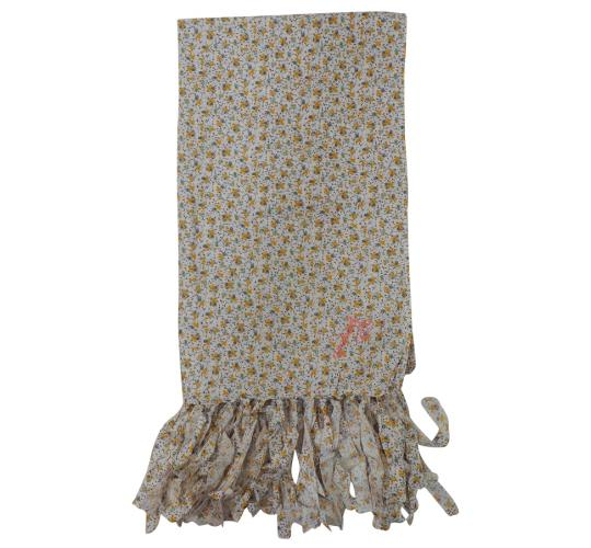 Wholesale Joblot of 10 Fenchurch Angelika Floral Print White Womens Scarfs