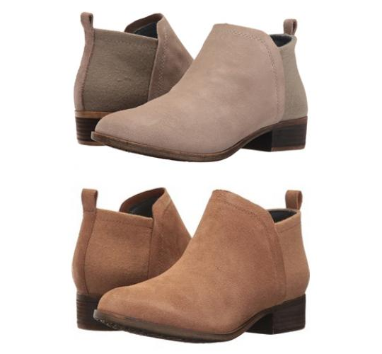 One Off Joblot of 6 TOMS Womens Deia Boot Taupe & Light Brown Sizes 6-7.5