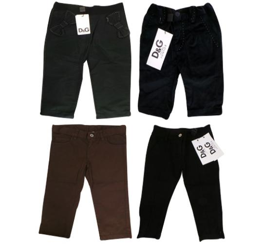 One Off Joblot of 5 Dolce & Gabbana Childrens Trousers 5 Styles 3Months - 3Years