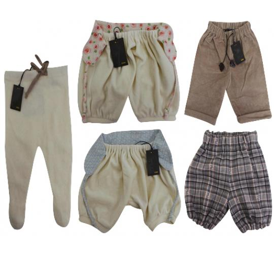 One Off Joblot of 5 Fendi Infants Trousers & Shorts Mixed Size 3 Months