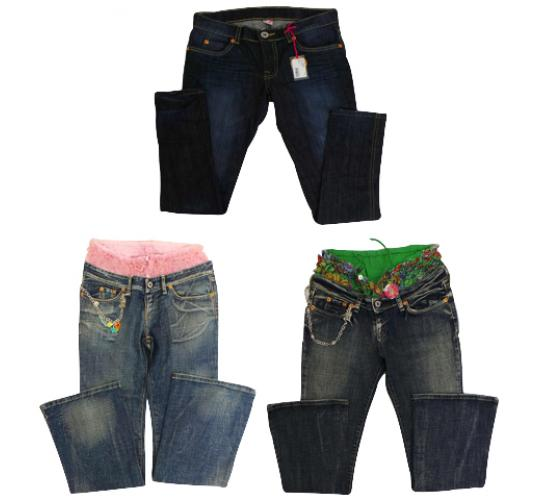 One Off Joblot of 4 Nolita Pocket Girls Jeans 3 Styles Sizes 12-14
