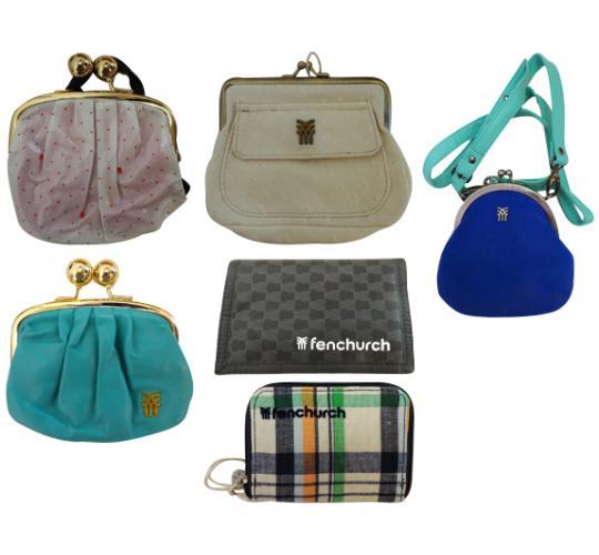 One Off Joblot of 22 Fenchurch Purses, Wallets & Shoulder Bag Majority Womens