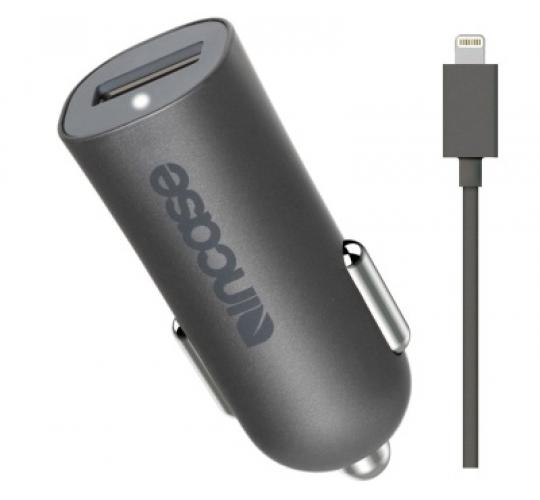 Genuine Incase High Speed Lightning 2.4A Car Charger for iPhone XS Max XR X 8 7 & iPad/iPod EC20117