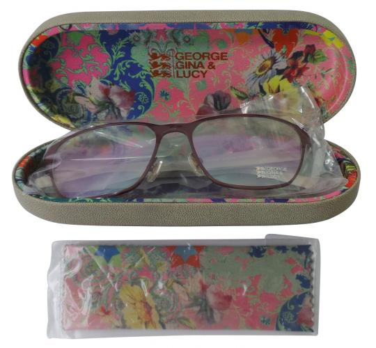 bf9c07c67a4 Wholesale Joblot of 5 George Gina   Lucy Roxsee Optical Glasses Matte Dark  Red