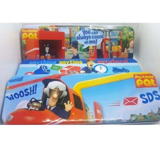 Poundshop Joblot POSTMAN PAT PENCIL TINS 200PCS