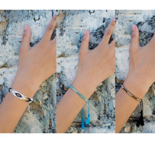 Joblot 22 Tassel and Boho Bracelets
