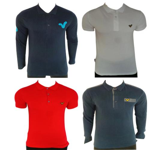 Wholesale Joblot of 10 Voi Jeans Mens Polo Shirts Assorted Styles