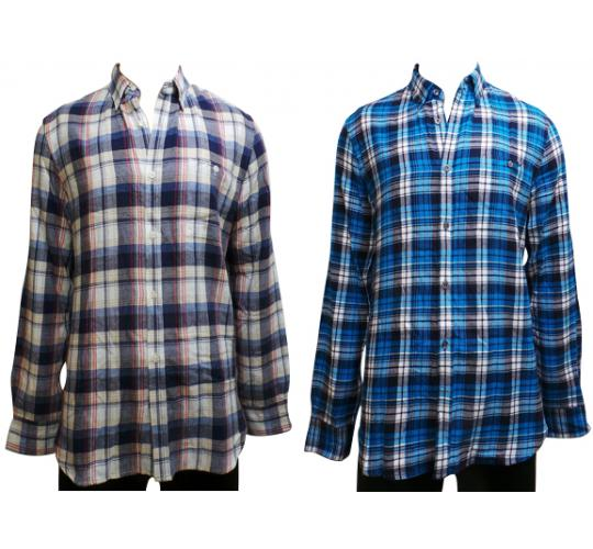 Wholesale Joblot of 10 French Connection Mens Check Shirts 2 Colours