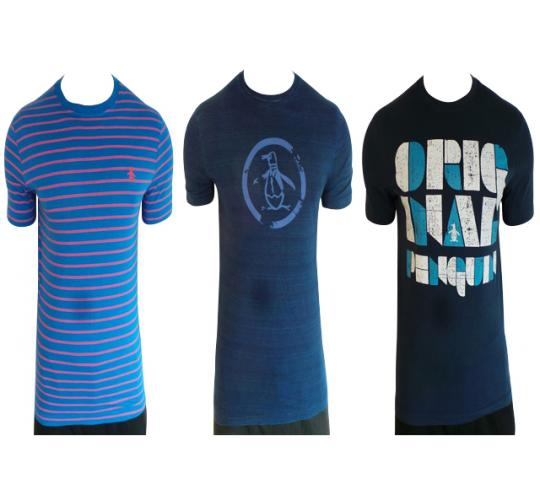 26f5f0bb091 Wholesale Joblot of 9 Original Penguin Mens T-Shirts Mixed Styles   Sizes