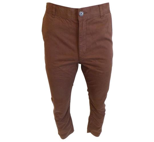 One Off Joblot of 16 Adidas NEO Mens Slim Chinos Brown Sizes 29-34