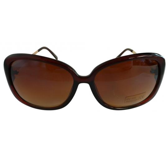 Wholesale Joblot of 20 Brown and Gold Armed Sunglasses SG-236