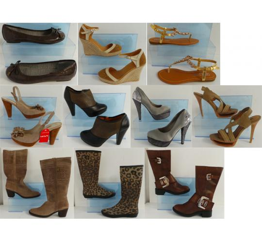 One Off Joblot of 390 Pairs of Designer Womens Shoes Sizes 2-8