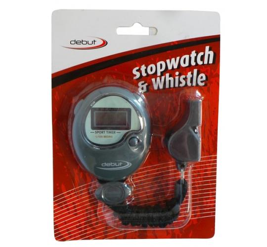Wholesale Joblot of 50 Debut Sports Coach's Stopwatch & Whistle