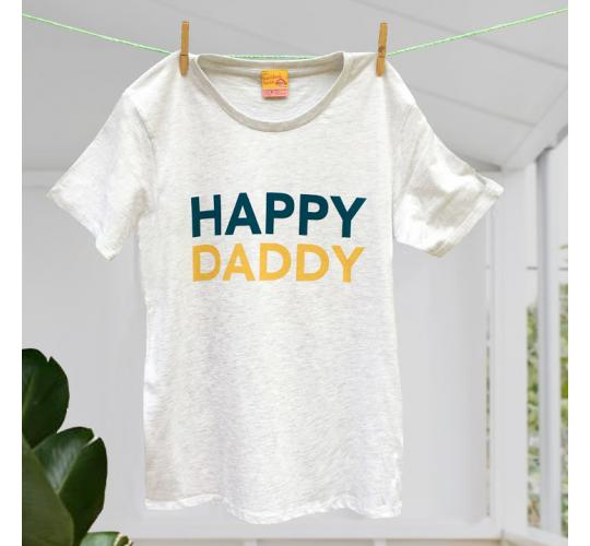 Happy Daddy Father's Day t-shirts 100% Cotton - Size Medium