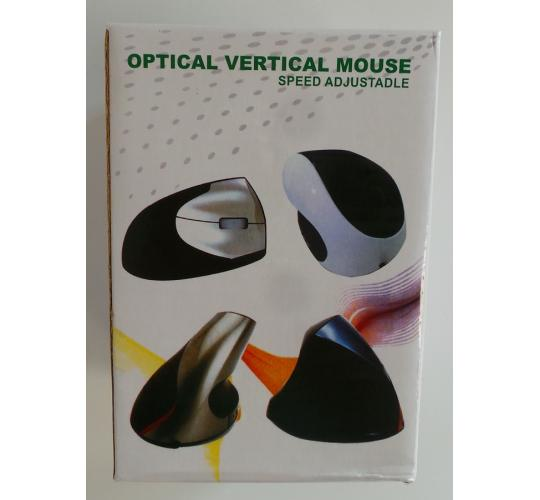 One Off Joblot of 19 Optical Vertical Mouse Compatible With PC & Laptop 3 Colour