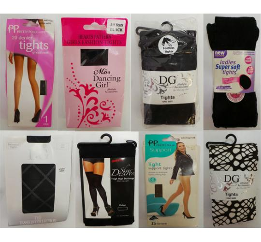 One Off Joblot of 74 Assorted Tights - Ladies & Girls
