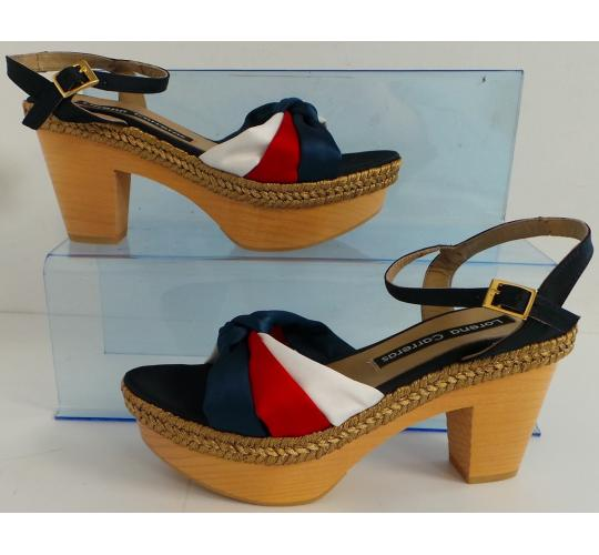One Off Joblot of 7 Lorena Carreras Ladies Jubilee Heeled Sandals Mixed Sizes