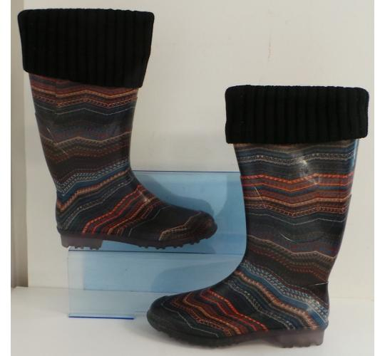One Off Joblot of 8 Dulce Rubio Womens Multi-Coloured Wellington Boot
