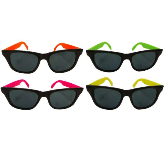 Wholesale Joblot of 20 Packs of 12 Dazzling Toys Wayfarer Style Adults Sunglasses