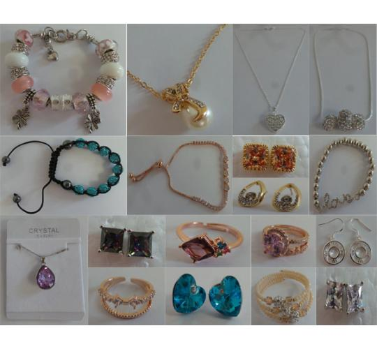 Wholesale Joblot of 20 Ladies Jewellery Assorted Styles - Huge Variety Available