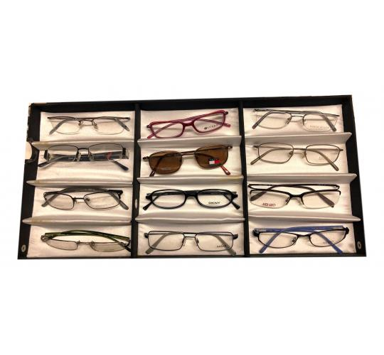 12 Pairs Designer Optical Glasses Frames - Various Brands all 100% New & Authentic