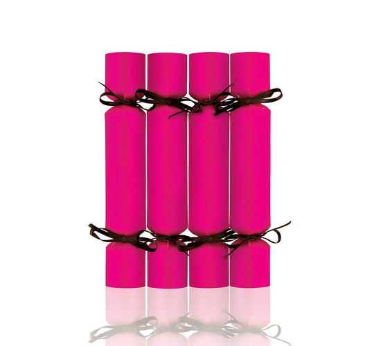 Wholesale Joblot of 200 MAD Beauty Empty Christmas Cracker Pink
