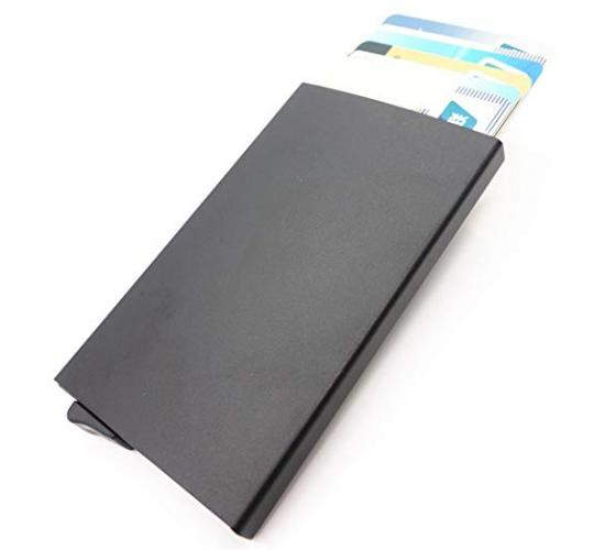 200x Mixed Colour Pop Up RFID Protective Card Holder