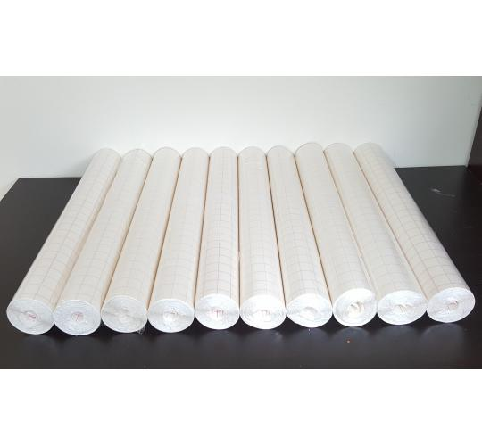 10 Rolls of Self-Adhesive Book Cover Rolls 50cm x 25m
