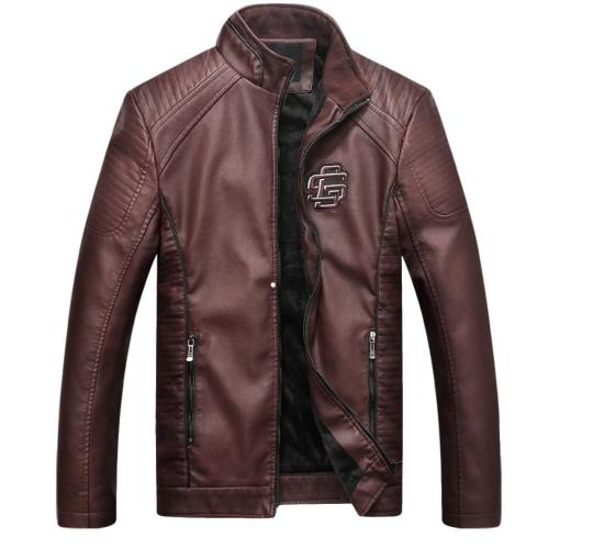 Men's Logo Biker Jacket x 10