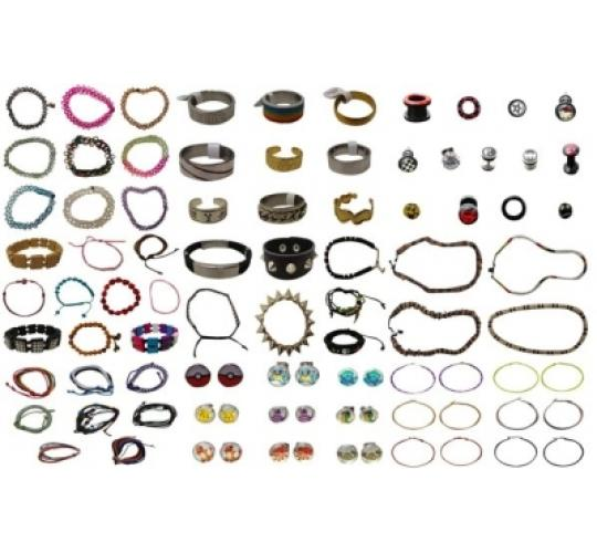Wholesale Joblot of 500 Mixed Jewellery Ladies, Mens & Children's Huge Range Lords