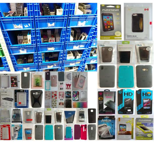 Pallet of 13,933 Assorted Mobile Phone Stock - Cases & Screen Protectors
