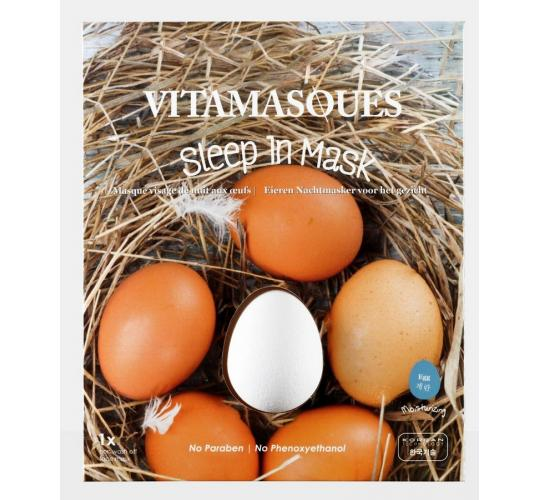 Wholesale Joblot of 48 Vitamasques Egg Sleep In Mask 4g