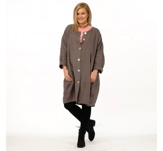 Ladies Linen Duster Coats