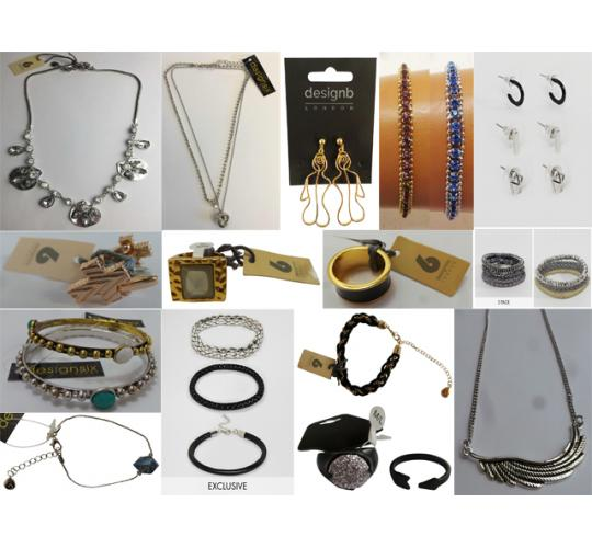 Wholesale Joblot of 500 DesignSix & DesignB Assorted Jewellery - Womens & Mens