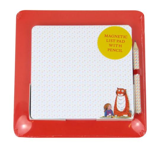 Wholesale Box of 24 Robert Frederick Tiger Who Came to Tea Magnetic Shopping List Pad & Pencil