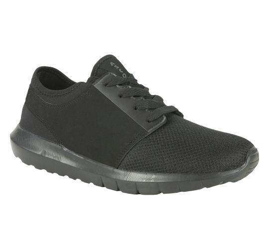 Ascot Mens Style Ame Black Lightweight Trainer